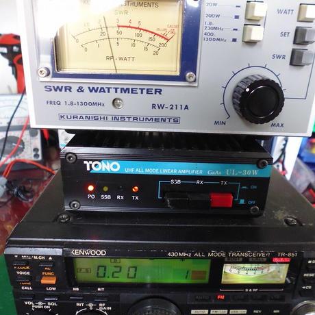 430MHz LINEAR AMP TONO UL-30W 中古動作品 ( ZHW-ETC-326 )