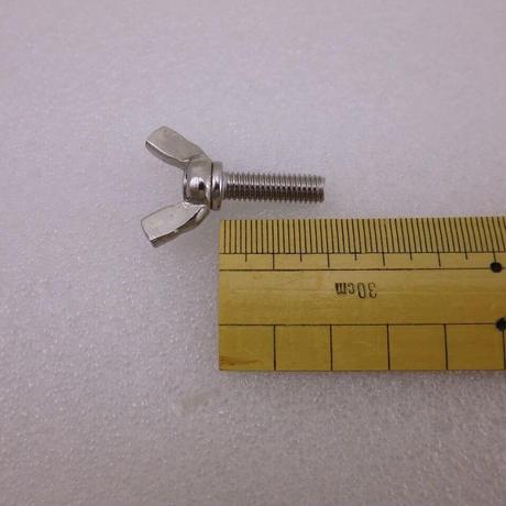 M6×20 蝶ネジ 2本セット SUS304  ( ZHW-663 )