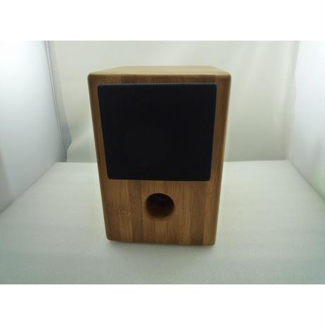 祐徳電子オリジナル 竹スピーカーBOXセット( 3inch スピーカー用 )  ( ZHW-ETC-199 )