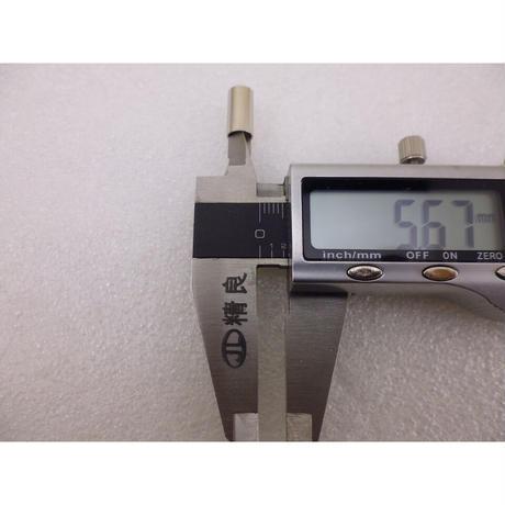 圧接(圧着)型 RG142 / 3D-2V用  SMA型同軸コネクタ プラグ ( ZHW-720 )