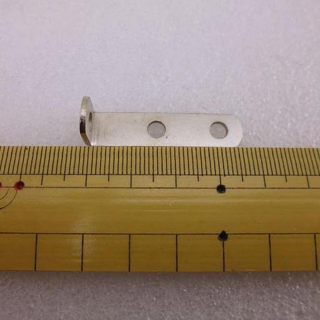 10×40×L12mm L型金具 2個セット ( ZHW-673 )