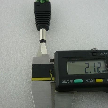 Φ5.5 DCプラグ コネクタ接続TYPE  ( ZHW-290 )