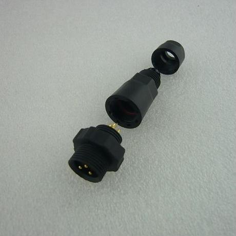 M14  3PIN  防水コネクタ(中継タイプ)