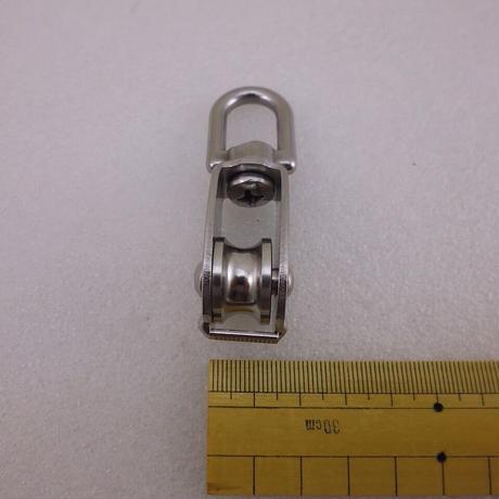 ステンレス製手動滑車(豆ブロック 1車)( ZHW-702 )