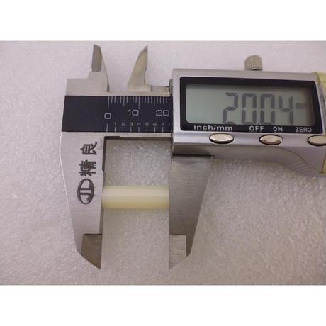 プラスチックスペーサーΦ7- M4-L20  20pcs/set  ( ZHW-609 )