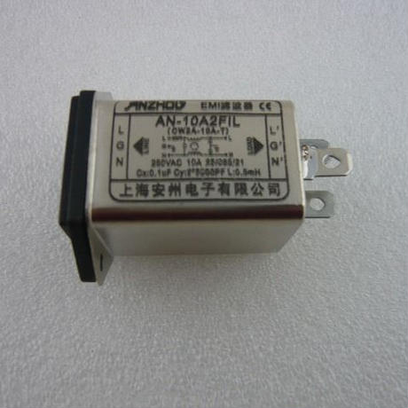 10A ノイズフィルタ-  付きAC INLET ( 10A AC INLET with Noise Filter )