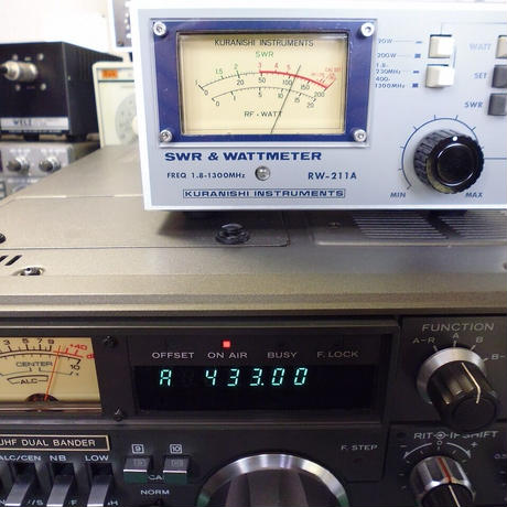 中古整備済みKENWOOD TS-780  V-UHF DUAL BANDER   MC-80付 ( ZHW-ETC-273 )