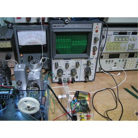 中波帯ワイヤレスマイク PCB 2枚組 ( ZHW-484 )