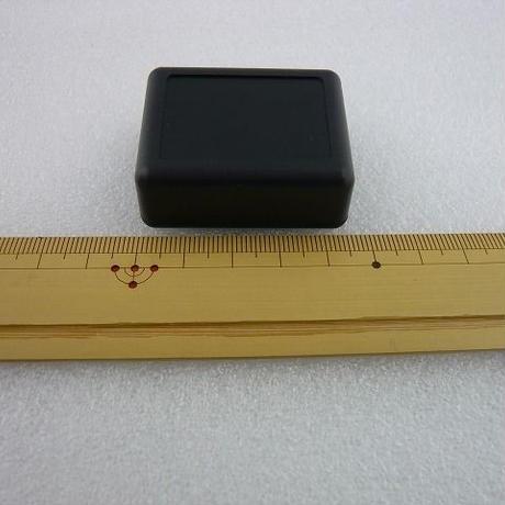 MINI PLASTIC CASE  47×37×18 mm    色:黒  ( ZHW-380 )