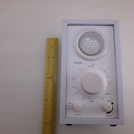 Maker不明  AM / FM  RADIO 中古動作品    ( ZHW-ETC-276 )