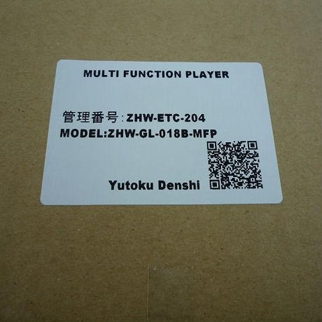 MULTI FUNCTION PLAYER 中古