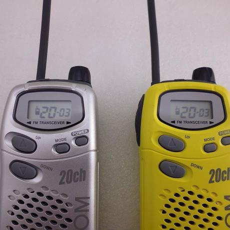 ICOM 特定小電力トランシーバー  IC-4008W 2台組 中古動作品    ( ZHW-ETC-271 )