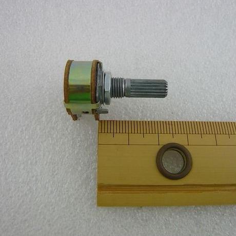 2連ボリューム 500KΩ B型   (ZHW-352 )