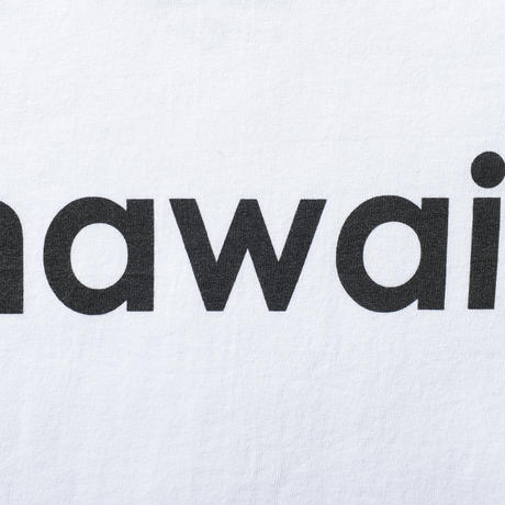 hawai'i T-shirts (WHITE) No.149