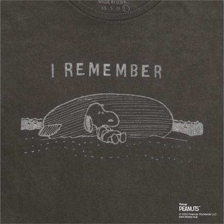 I REMEMBER snoopy(BLACK)No.154