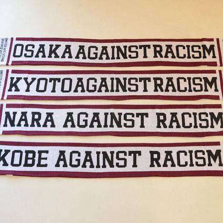 Muffler Scarf:AGAINST RACISM(西日本)