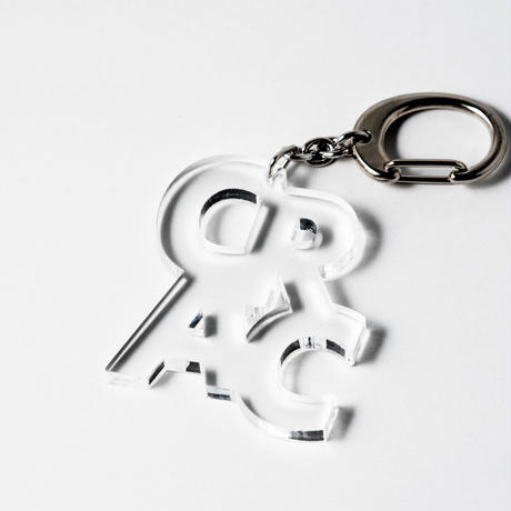 [SALE] [展示品] Key Chain: CRAC by Kitayama Masakazu (clear)