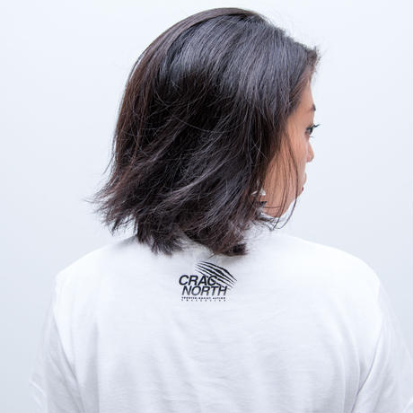 [CRAC NORTH] SAPPORO AGAINST RACISM T-shirt (white)