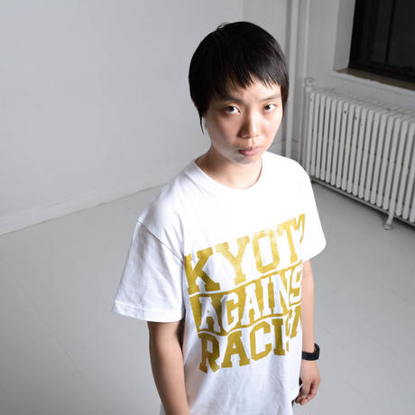 KYOTO AGAINST RACISM 2017 DJ KEN-BO Signature model (white)
