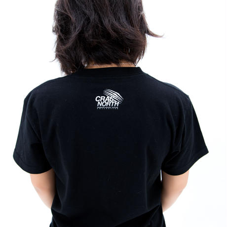 [CRAC NORTH] SAPPORO AGAINST RACISM T-shirt (black)