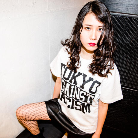 T-shirt: TOKYO AGAINST RACISM 2018 (white)