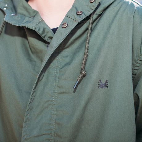 Strictly Antifascist Mods Coat (KHAKI/BK)