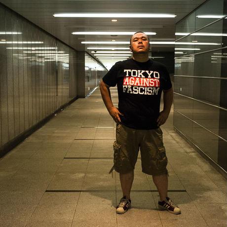 Tee: TOKYO AGAINST FASCISM(ブラック)