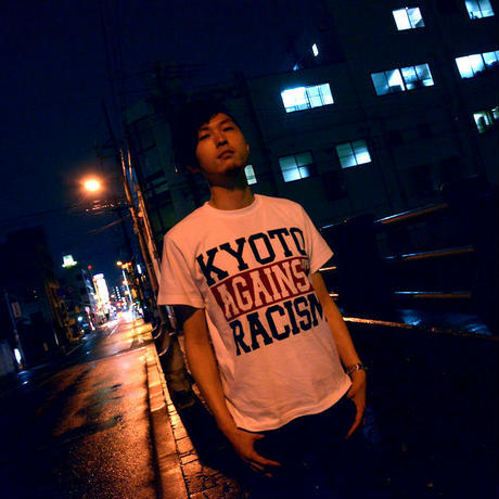 KYOTO AGAINST RACISM Tee *仲パレカンパつき