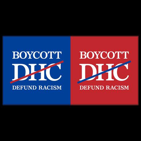 Boycott #DHC Sticker Pack for Bombing (Blue 10pcs + Red 10 pcs)