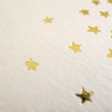 Gold Stamping Animal Greeting Card