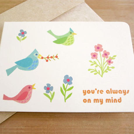Animal Mini Greeting Card