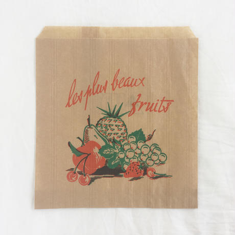 Fruits Shop Paper Bag M