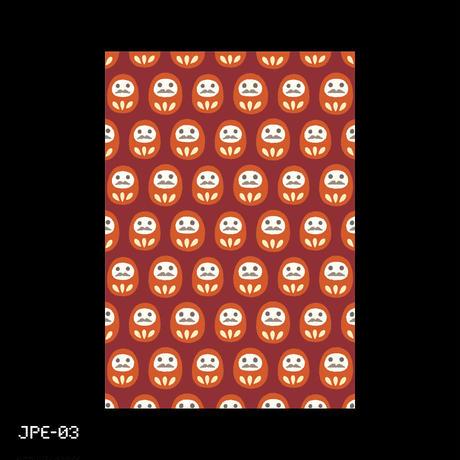 "Small Envelope ""Japonica Motif"" 1"