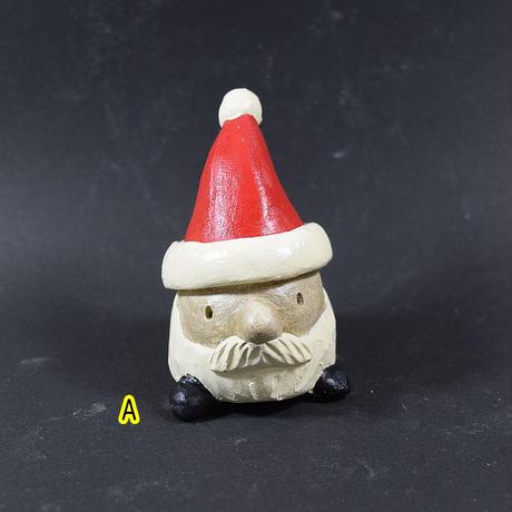 「サンタ風土ぼっくり君」おひげをゆったりと蓄えた新バージョン♪