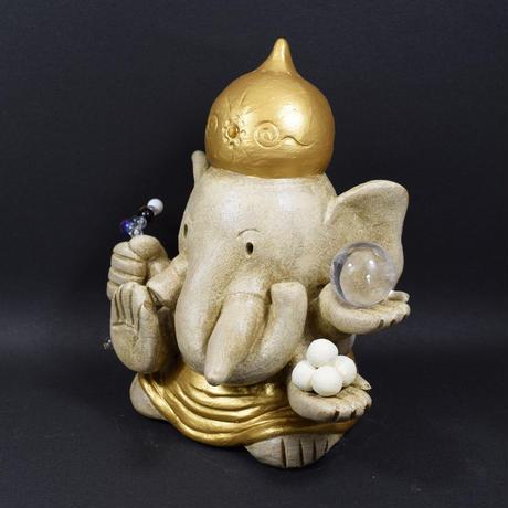 【限定版】「ガネーシャさん・大型版」災いを退け希望をかなえ福を招くシンボル♪通常版より二回り大型です♪