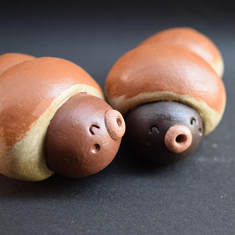 「ちょこころねちゃん」チョココロネの妖精さんかな?パン好きさんにもぜひどうぞ♪