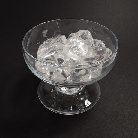 「水晶タンブル・5個入りセット」インテリアに、またはハンドメイドの素材にいかが?