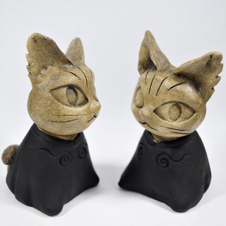リニューアル「どんぐり2匹とやまねこ君セット」 宮沢賢治「どんぐりとやまねこ」からインスパイアされた作品です♪