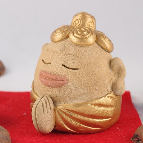仏像シンプルスタイル「ぶったま様」♪大仏さんがギューッと縮んじゃった?こころ和む土ぼっくり版のほとけさま。