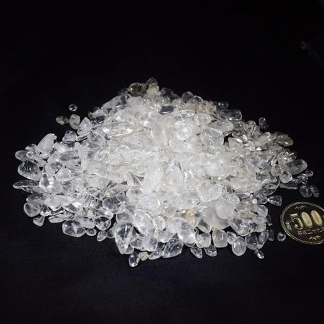 「水晶さざれ石・200g」ブレスレット置き・インテリア・アクセサリーの素材にいかが?