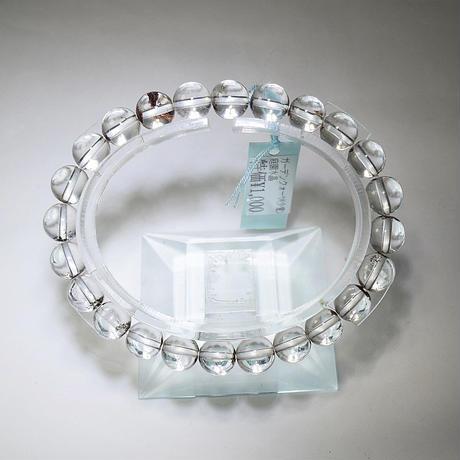 「ガーデンクォーツ・珠径8mm・腕サイズ16m」【訳あり特価】とても透明な水晶ですがガーデン少なめなのでお得に♪[AC53]