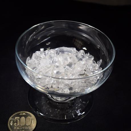 「水晶さざれ石・50g」ブレスレット置き・インテリア・アクセサリーの素材にいかが?