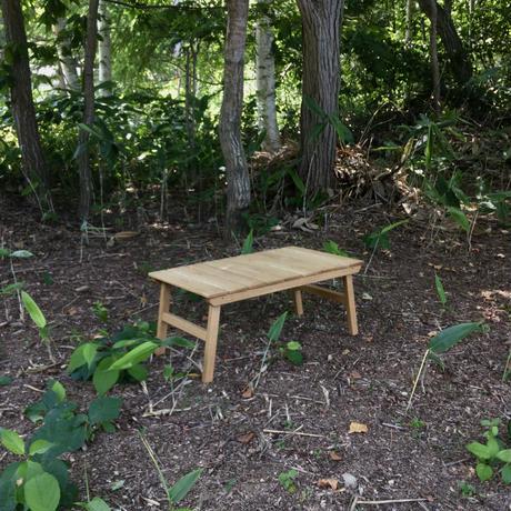 アウトドア ローテーブル