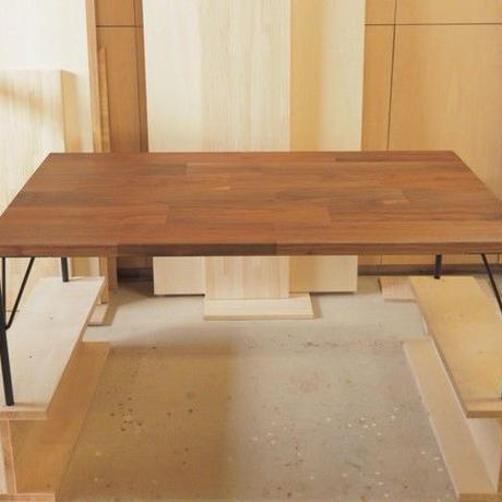 ローテーブル(ウォールナット材)