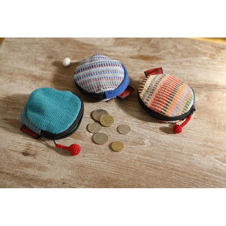 手織布の小銭入れ|39086