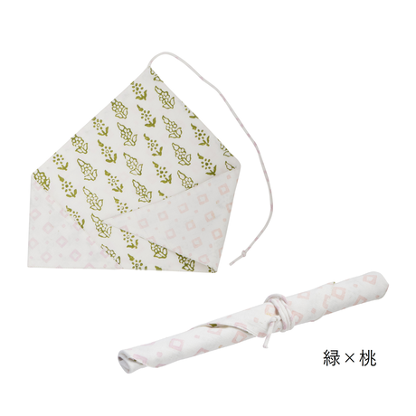 【在庫限り特別価格】ブロックプリントのお箸袋