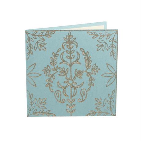 手すき紙のカード  フラワー