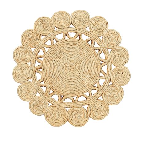 ジュート手編み鍋しき|36072
