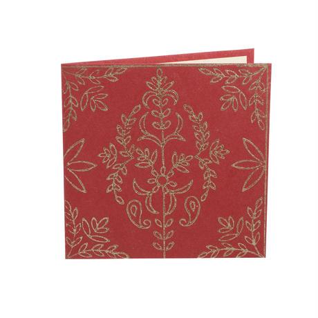 【ネコポス注文(4点まで)】手すき紙のカード  フラワー