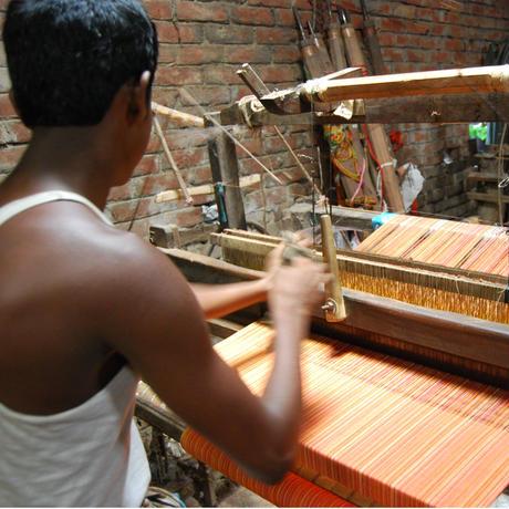 バングラデシュの手拭い ガムチャ|36034
